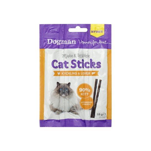 Cat Sticks 18g, Kylling/Lever